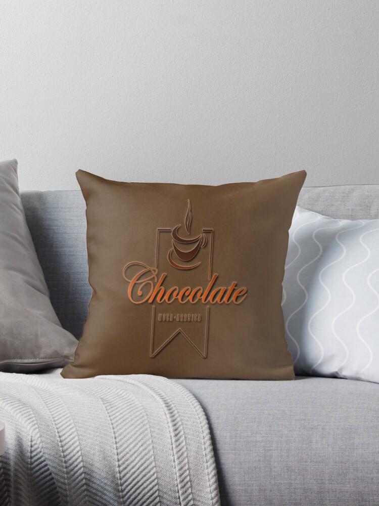 Coffee Range| Love Chocolate| Chocolate Decor by ozcushionstoo