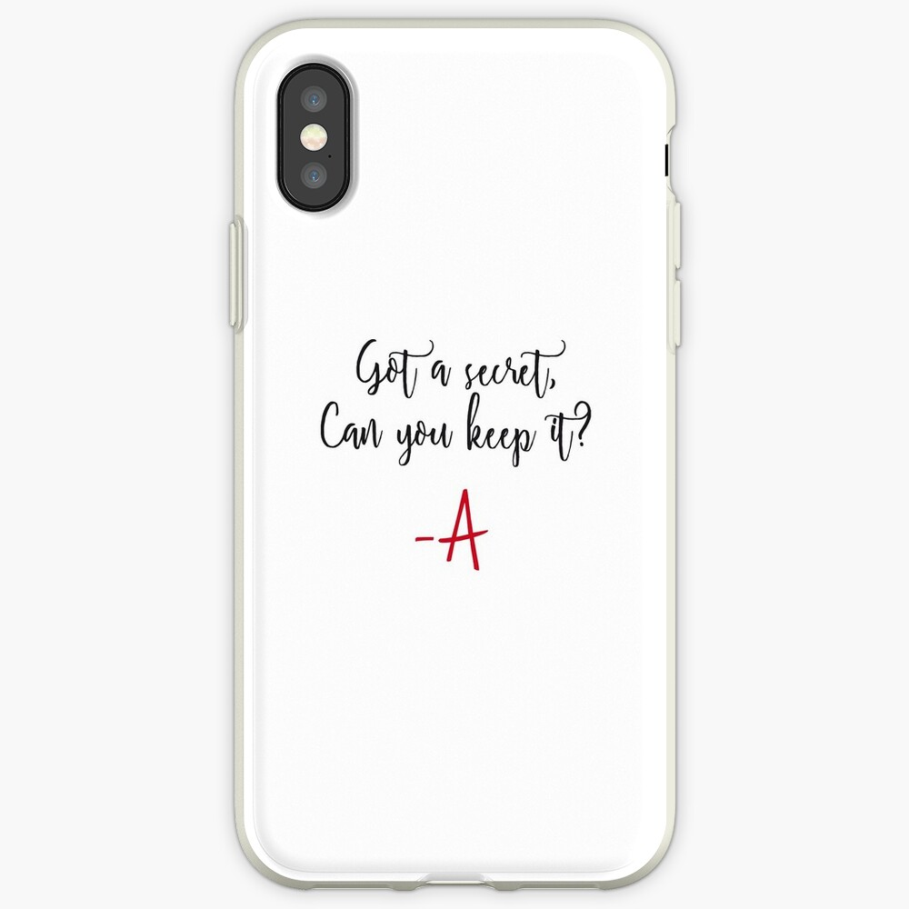 Got a secret, Can you keep it? iPhone Case & Cover