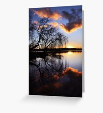 Mannum willows Greeting Card
