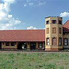 Historic Train Depot Passenger Station I by Glenna Walker
