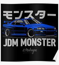 JDM Monster Poster