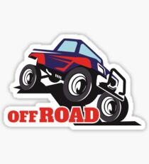 OFF ROADING Sticker