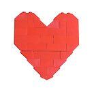 LEGO Valentine - White by thereeljames