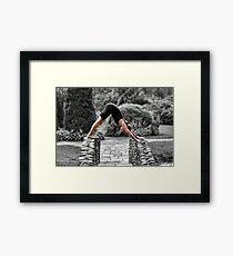 Bent Framed Print