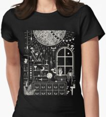 Moon Altar Women's Fitted T-Shirt