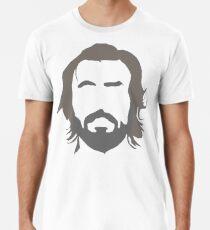 170f56847 Andrea Pirlo - THE BEARD Premium T-Shirt