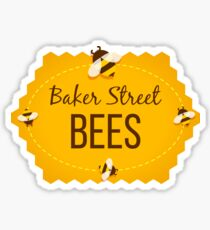 Baker Street Bees - logo only Sticker