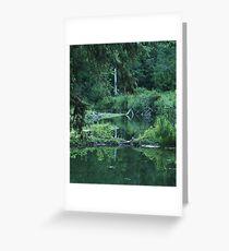 Naturally Abstract Reflections Greeting Card