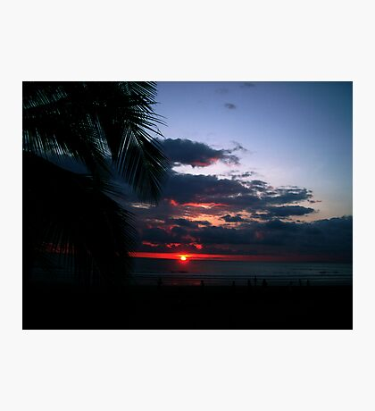 Just another Sunset from Flamingo Beach Photographic Print