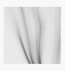 Wavy Lines Photographic Print