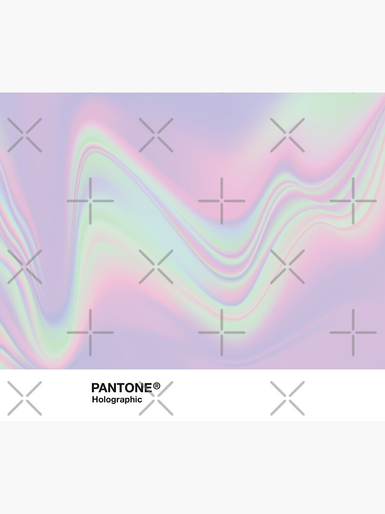 H.I.P.A.B - Holographic Iridescent Pantone Aesthetic Background by heathaze