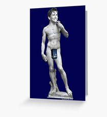 Der David ... Tennant Grußkarte