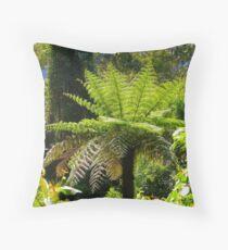 Dicksonia antarctica Throw Pillow