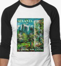 DELTA AIR LINES : Vintage Fly to Atlanta Print T-Shirt
