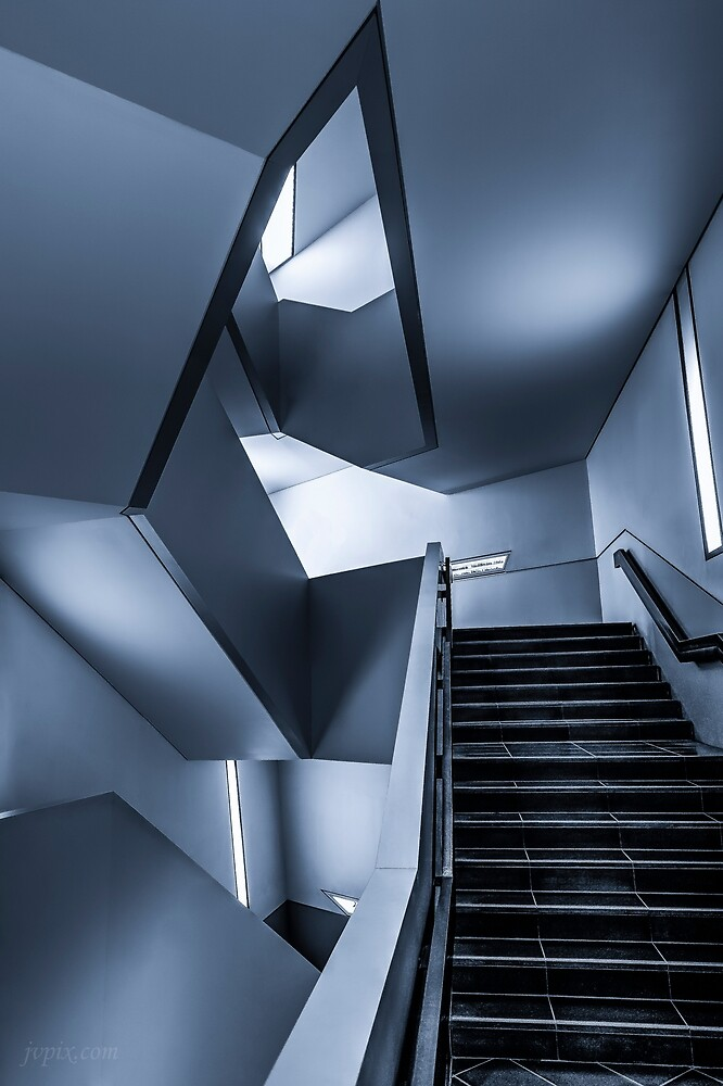 Stairs of Wonder 3 by John Velocci