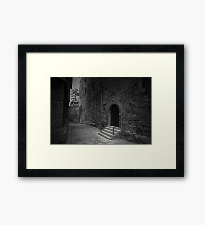 Mind the Stairs Framed Print