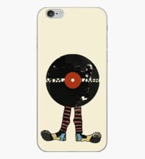 Funny Vinyl Records Lover - Grunge Vinyl Record iPhone Case