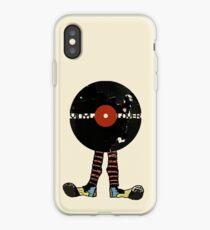 Funny Vinyl Records Lover - Grunge Vinyl Record iPhone Case