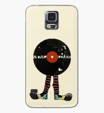 Funny Vinyl Records Lover - Grunge Vinyl Record Case/Skin for Samsung Galaxy