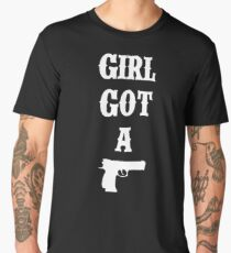 GIRL GOT A GUN - Tokio Hotel Men's Premium T-Shirt