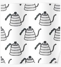 kettle for coffee Poster