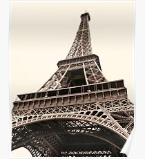 Eiffel Tower Paris, France. Poster