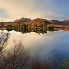 North West Geopark. Ben Mor Coigach. Loch Cul Dromannan.   Highlands of Scotland. by PhotosEcosse