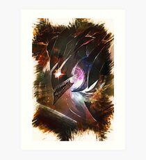 League of Legends DARK STAR KHA`ZIX Art Print