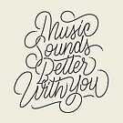 MUSIC - Hand Lettering by Made by Mighty