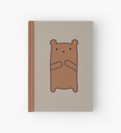 Grizzly Bear Hardcover Journal