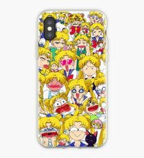 Usagi's faces iPhone Case