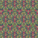 Drawing Kaleidoscope Pattern 2 by Cveta