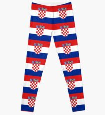Croatia Flag Products Leggings