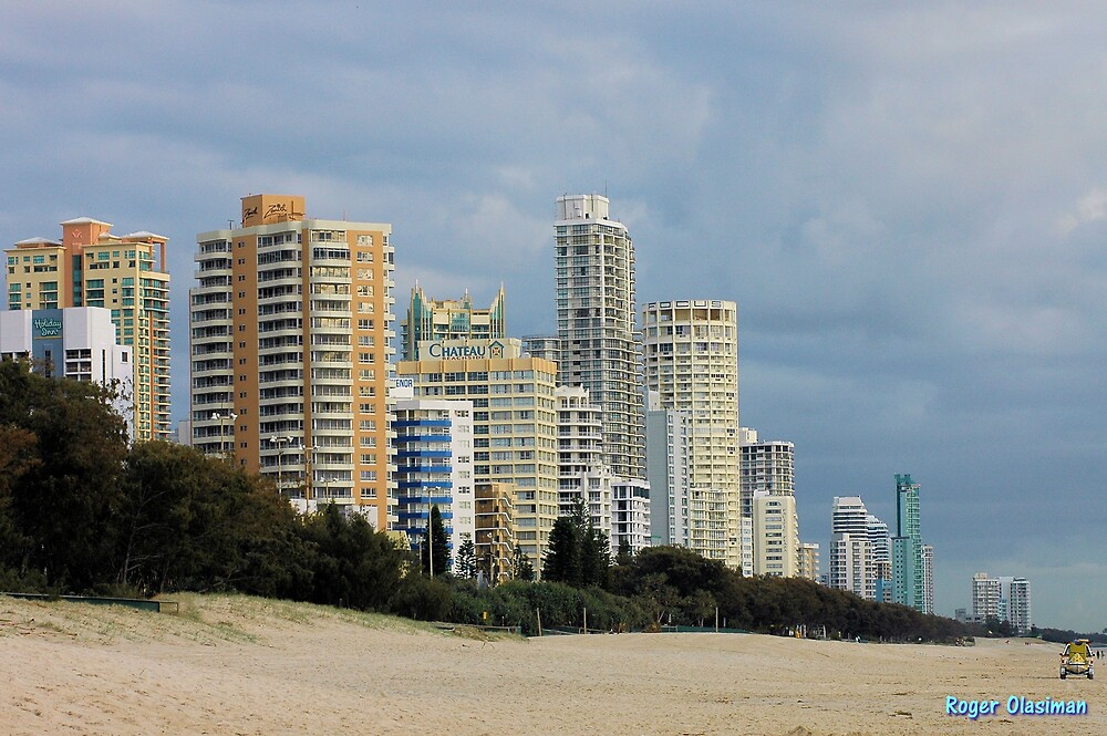 Gold Coast Skyline by Roger Olasiman