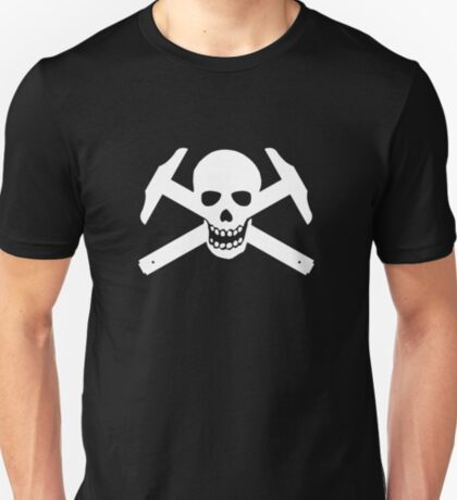 Architectural Jolly Rogers - White image T-Shirt