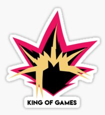 Yuigioh - King Of games Sticker