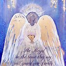 Angel of Love and Light III (Golden Wings) Angel Guardian by nelinda
