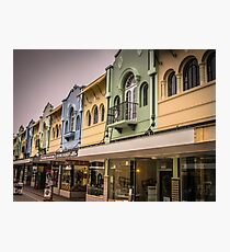 New Regent Shop Fronts Photographic Print