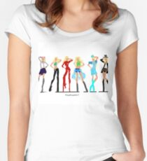 Britney Spears - Its's Britney Bitch  Women's Fitted Scoop T-Shirt