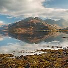 Five Sisters of Kintail in early November. Loch Duich. North West Highlands. Scotland. by PhotosEcosse