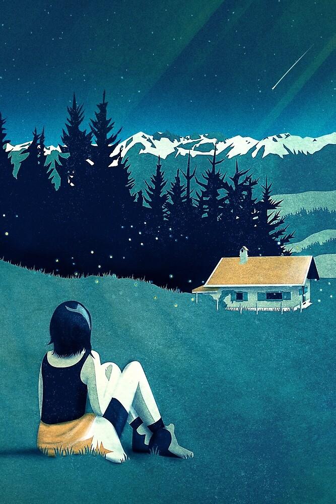 Magical Solitude by schwebewesen