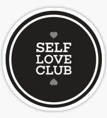 Self Love Club Sticker