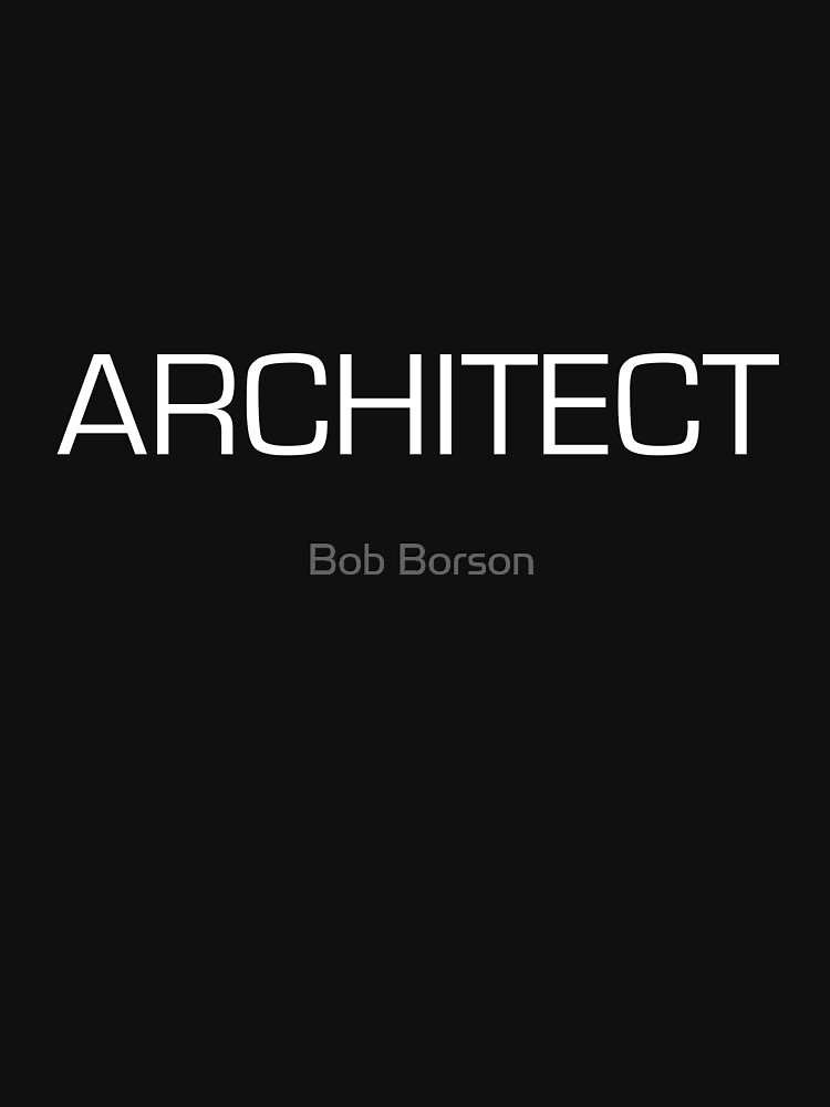 Architect - Euro White by bobborson