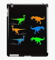 DINOSAURS : Modern Art Colorful Print iPad Case/Skin