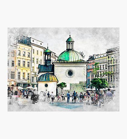 Cracow art 3 #cracow #krakow #city Photographic Print