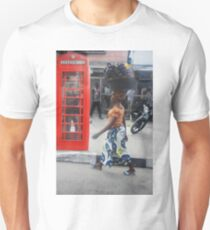 British Telephone Box on Awolowo Road Unisex T-Shirt