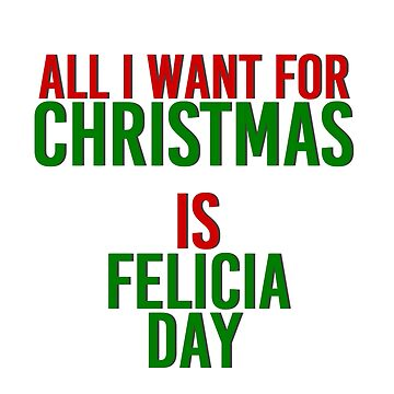 All I Want For Christmas (Felicia Day) by MizSarie