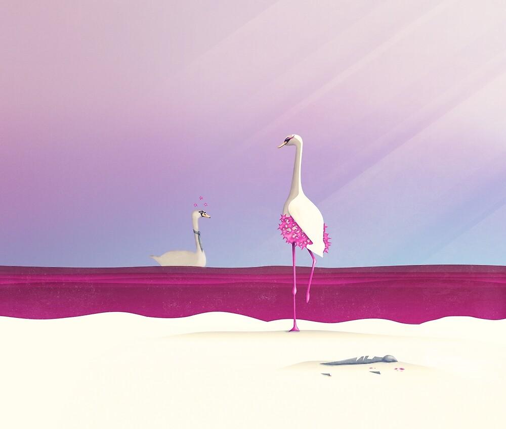 Flamingo Fatale von schwebewesen