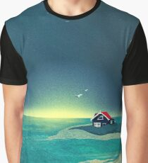 House by the Sea Graphic T-Shirt