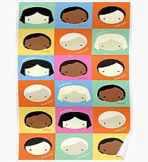 Lucki Loopi Yummi Love Multicultural Combo Mix Poster